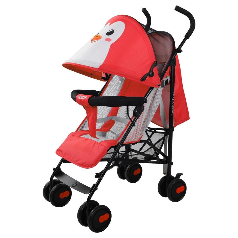 宝宝好609伞型推车 红